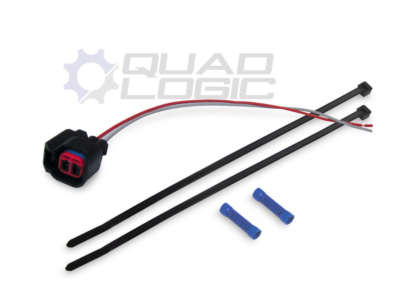 Rzr fuel injector pigtail harness repair kit quad logic