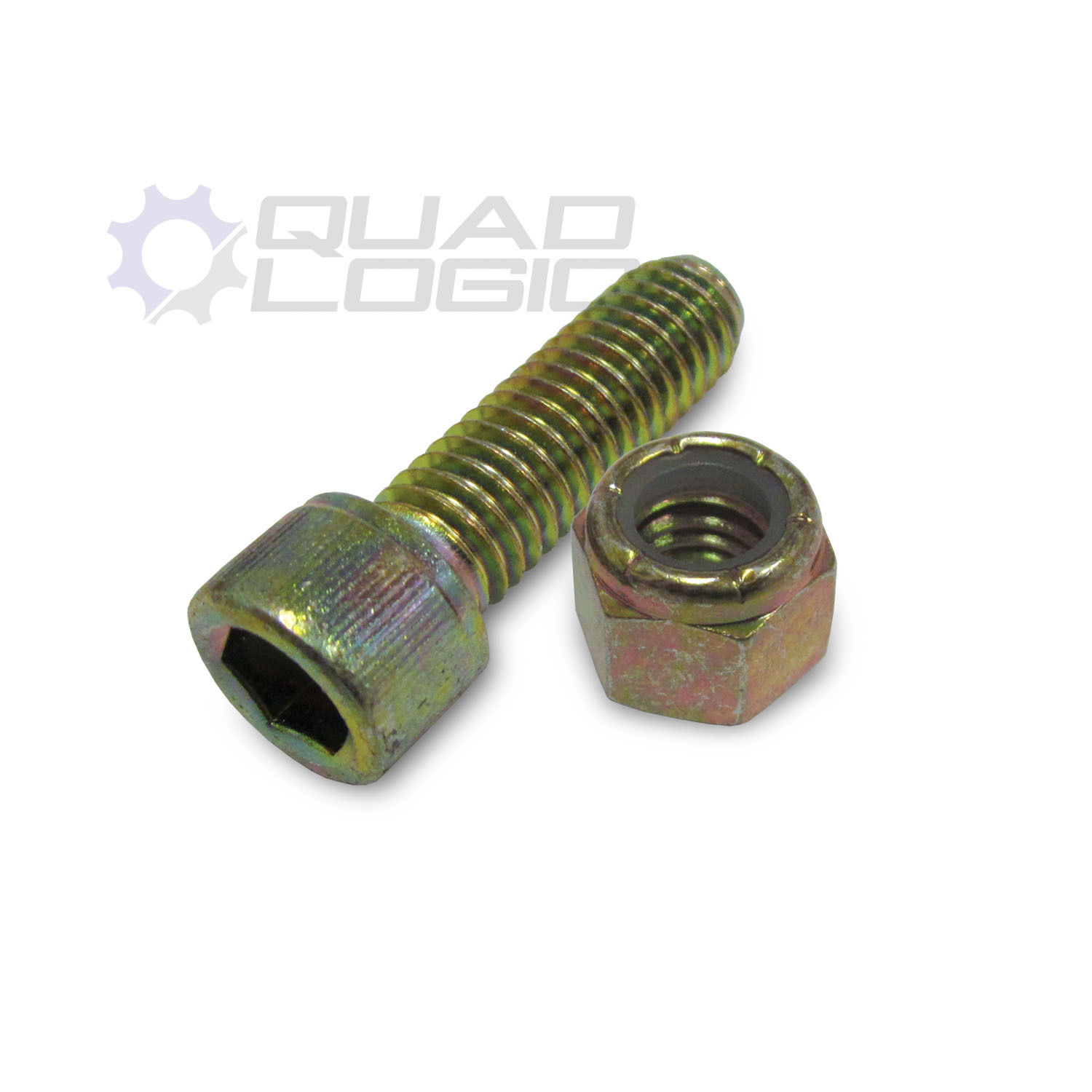 Ace Roll Bar Cage Bolt & Nut (3/8 x 1-1/4)