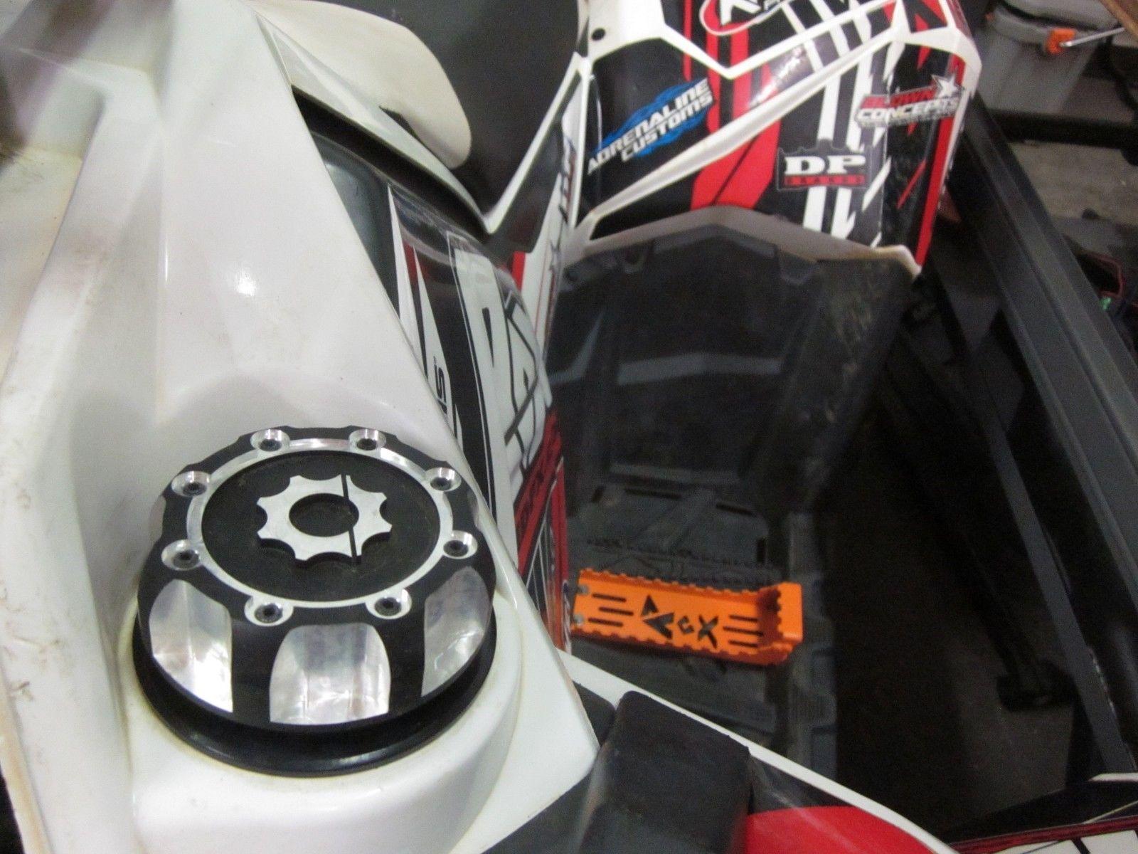and 850 2x4 and 4x4 Polaris Sportsman 800 EFI 2005-2014 2015-2017 ATV Quad Billet Gas Cap Black