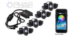 Polaris Ranger RZR Sportsman Can-Am Outlander Renegade Maverick ATV UTV Universal 4Pod RGB Rock Light Accessory Kit