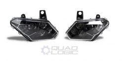 Can-Am Maverick X3 (2017-21) Black LED Headlights (PAIR) 710004658 710004659